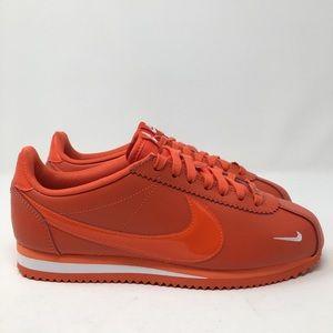 Nike Cortez Classic Leather Premium Orange N25